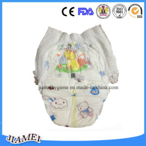 Disposable Cotton Baby Diaper with Full Surround Elastic Waist Band pictures & photos