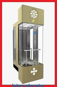 Low Noise Observation Elevator Lift with Sightseeing Glass pictures & photos