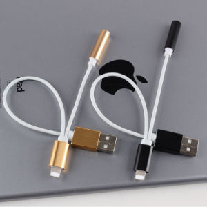 Adaptor for iPhone7 to Headphone+USB2.0 Cable pictures & photos