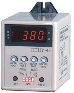Electronic Motor Voltage Protection Relay (HTHY-43) pictures & photos