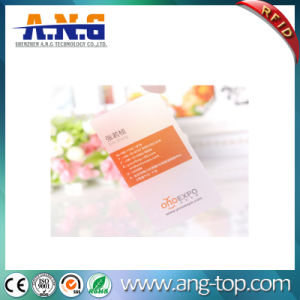 Clear Transparent PVC Business Cards with Customized Printing pictures & photos