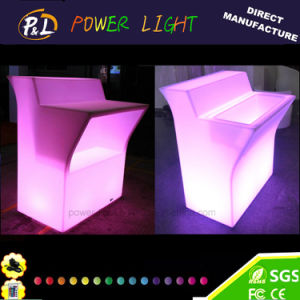 Illuminated Plastic Bar Furniture LED Bar Counter pictures & photos