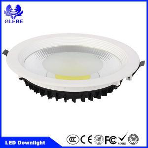 Die Cast Aluminum Round Recessed LED Downlight COB SMD Ce/RoHS pictures & photos