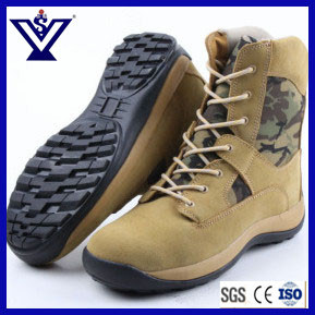 Best Sale Army Tactical Military Safety Boots Shoes with Rubber Sole (SYSG-201754) pictures & photos