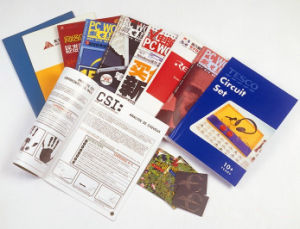 Full Color Printed Professional Custom-Made Softcover Book Printing pictures & photos