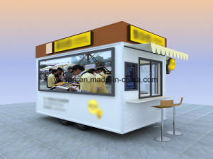 Mobile Kitchen Food Van for Sale pictures & photos