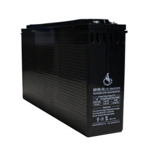 12V 150ah Front Terminal Deep Cycle AGM Battery for Telecommunications pictures & photos