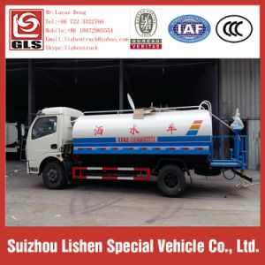 4*2 Water Tank Truck Small Water Truck 6000L pictures & photos