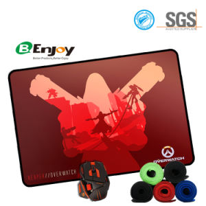 Hot Selling Big Rubber Game Mouse Pad with Overlocked Edge pictures & photos