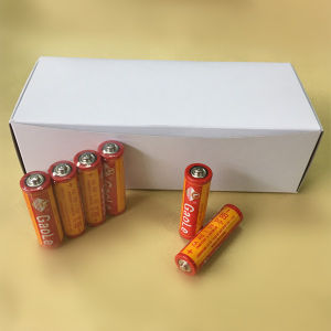 AA R6p High Discharge Time Carbon Zinc Battery (real image) pictures & photos