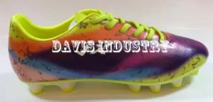 Print Colorful Football Shoes for Men pictures & photos