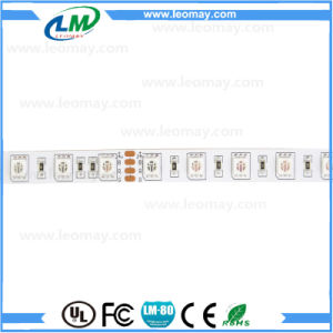 Portable 5050 RGB LED Strip for Colorful Building with 2 Rows pictures & photos