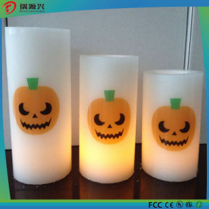 Hallowmas Decoration Flameless Candle Shape LED Lamp pictures & photos