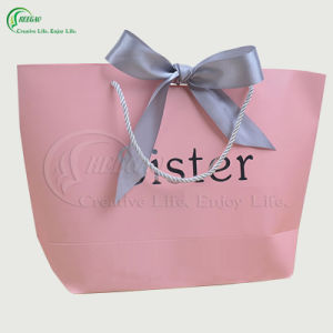 2017 New Design Customized Shopping Paper Bag (KG-PB051)