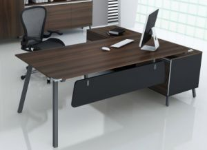 China Factory Price MDF Wooden Executive Office Table/Desk (NS-D032) pictures & photos