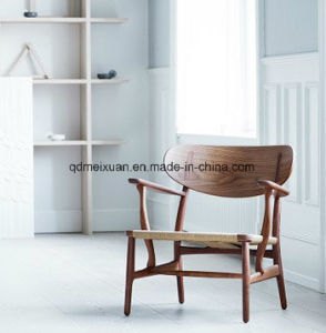 Nordic Wood Chair Braided Rope Cany Chair Armrest Chair (M-X3841) pictures & photos