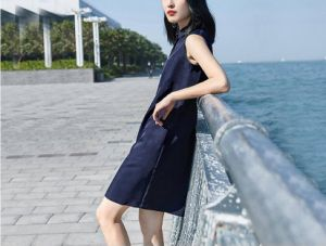 Simple Sleeveless Office Ladies Fashion Dress pictures & photos
