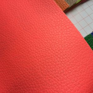 0.5mm Synthetic PU Leather for Package Cases pictures & photos