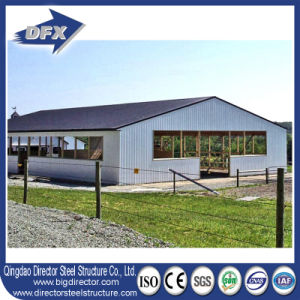 Pig Farm Steel Structure Type Poultry House with Metal Material pictures & photos