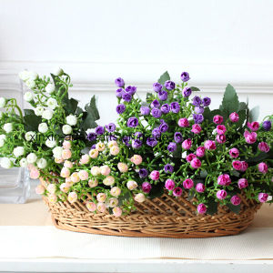 Fake Artificial Flower Aglaia Odorata Lour Flower Bouquet with 6branches&36buds pictures & photos