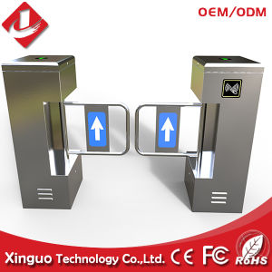 High Quality Swing Barrier Gate, 304 Stainless Steel RFID Swing Turnstile pictures & photos