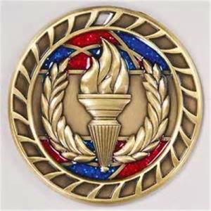 Creative Deaign Sport Metal Softball Medal Brooch Basketball Clip Case pictures & photos