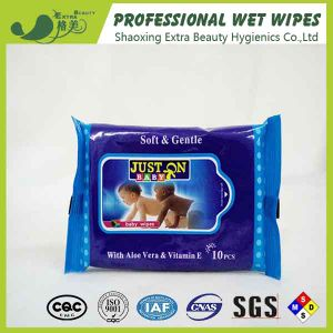Spunlace Natural Baby Wet Tissues Cleaning Wet Wipe pictures & photos