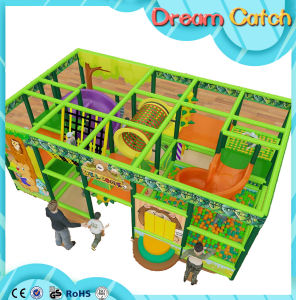 PVC Coated Pipe Kids Play Park Equipment Indoor Playground with Galvanized Steel Material pictures & photos