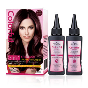 2016 Tazol Hot Sale 100% Covering Gray Hair Color Shampoo in 5 Mins pictures & photos