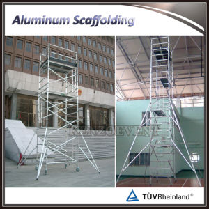 Mobile Portable Aluminum Scaffolding for Sale pictures & photos