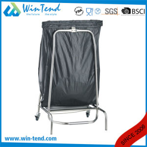 Hot Set Sale Classifying Garbage Trolley with Bend Leg Work Table for Flat Packing Easy Transport pictures & photos