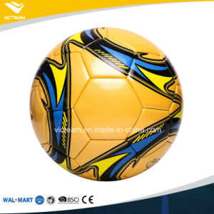 Professional Slippery PU Leather Football Size 4 pictures & photos