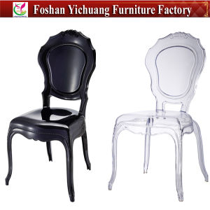 2017 New Style Crystal Clear Plastic Wedding Chairs (YC-A219) pictures & photos