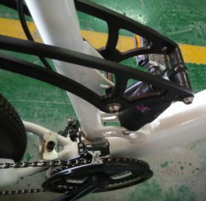 Mountain E Bike with Suntour Xcr-Air Front Fork pictures & photos