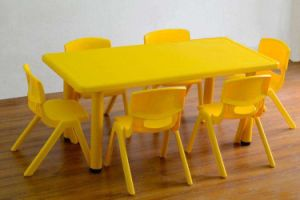 Nursery School Furniture Kids Study Table and Chair pictures & photos