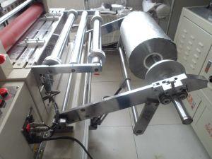Aluminum Foil Metal Foil Sheeting Machine with Unwinding Machine pictures & photos
