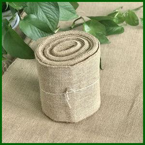 Natural Color Jute Burlap Fabric Roll pictures & photos