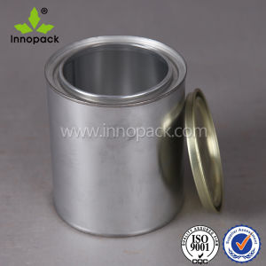 5 L Metal Tin Can with Lid and Handle for Paint or Chemical pictures & photos