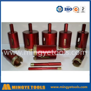 High Efficiency and Fast Speed Diamond Stone Drill Bits Used Drilling Stone pictures & photos