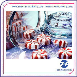 Practical Double Colour Hard Candy Production Line Making Machine pictures & photos