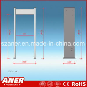 China Manufacturer High Sensitivity Walk Through Gate with 33 Zones pictures & photos