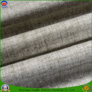 Home Textile Waterproof Fr Blackout Woven Polyester Linen Fabric for Window Curtain pictures & photos