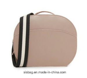 Fashionable Putty Color PU Crossbody Bag Mini Satchel Bags pictures & photos