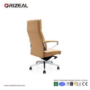 Orizeal Genuine Leather Manager Chair, Quality Management Chair, Boardroom Conference Chair (OZ-OCL009A) pictures & photos
