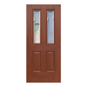 Oak Mahogany Double-Leaf Door Door Sheet pictures & photos