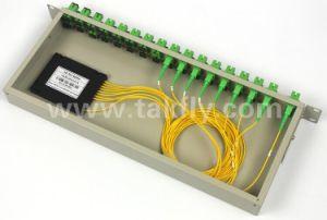 PLC Sc/APC Connector 1X8 Rack Mount PLC Splitter pictures & photos
