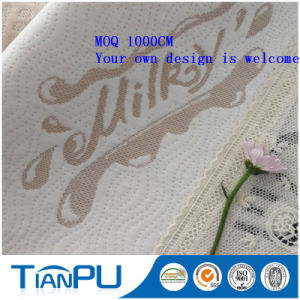 Anti Statics 600d Polyester Knitted Mattress Fabric for Air Mattress pictures & photos