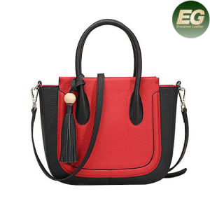 Trendy Fashion Factory Direct Sale Lady Satchel Bag with Tassel Emg4864 pictures & photos