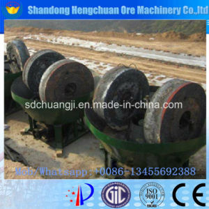 Double Wheel Wet Pan Mill Gold Mine Equipment pictures & photos