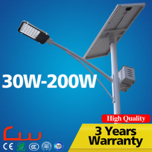 Longlife Span Epistar Bridgelux Chip LED Solar Street Light pictures & photos